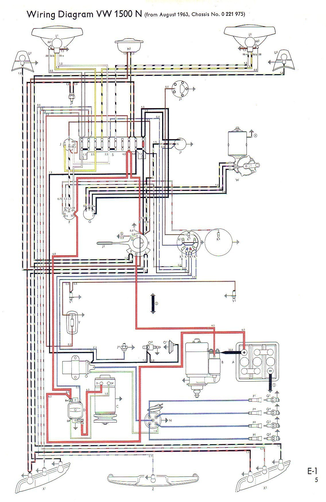 64 impala alternator wiring diagram 1969 vw beetle wiring diagram